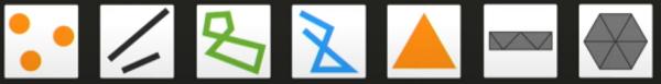 تصویر اشکال اولیه تابع Vertex Shader در برنامه WebGL نوشته شده برای GPU | آموزش وب جی ال