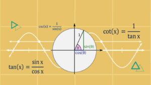 روابط مثلثاتی و فرمول های مثلثاتی مهم + دانلود PDF خلاصه رایگان