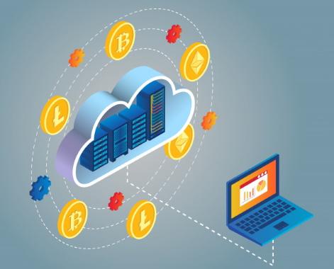 استخراج ابری در مطلب استخراج بیت کوین چیست ؟ — راهنمای گام به گام ماینینگ