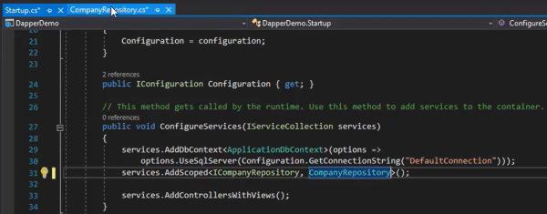 تغییر پیاده سازی از Entity Framework به Repository مربوط به Dapper در آموزش Dapper