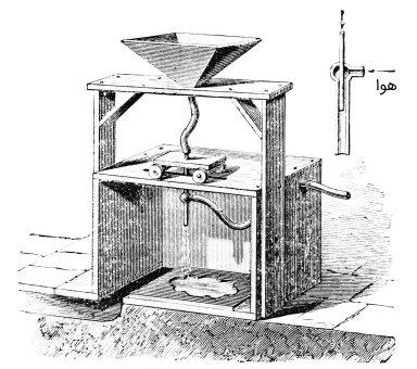 اولین دستگاه سندبلاستر