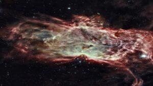 درون سحابی شعله — تصویر نجومی