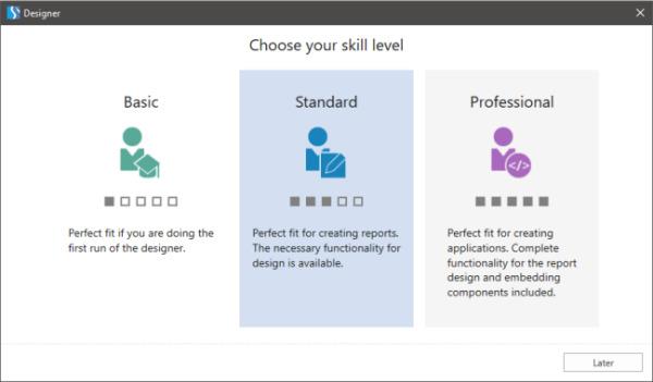 انتخاب سطح مهارت پس از ورود به حساب کاربری برای اولین بار پس از نصب استیمول سافت | آموزش استیمول سافت