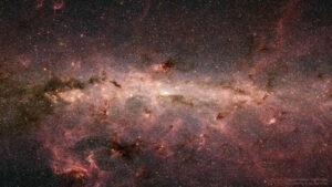 تصویر فروسرخ از مرکز کهکشان راه شیری — تصویر نجومی