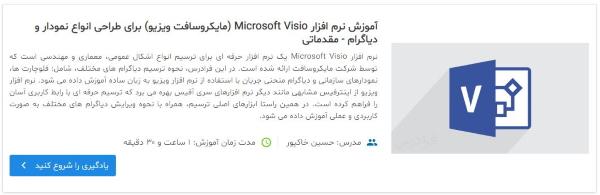 معرفی فیلم آموزش نرمافزار Microsoft Visio (مایکروسافت ویزیو) برای طراحی انواع نمودار و دیاگرام - مقدماتی در مطلب یوزکیس دیاگرام چیست ؟