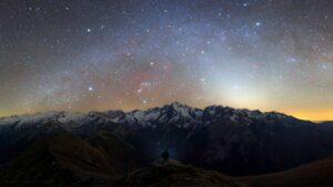روشنایی فجر کاذب — تصویر نجومی