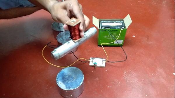 ساخت آهنربای الکتریکی قوی