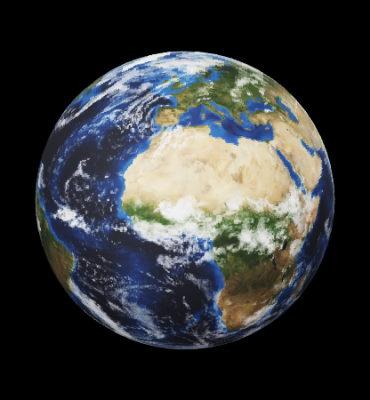 سیاره زمین سومین سیاره منظومه شمسی از خورشید است.
