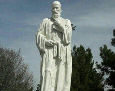 مجسمه فضولی در تبریز