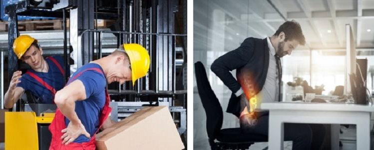 کمر درد ناشی از شغل