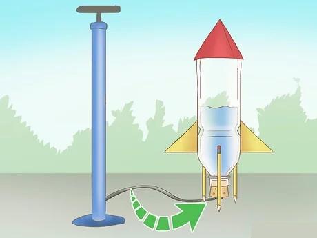 مرحله ششم راکت آبی