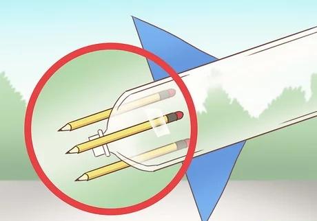 مرحله اول ساخت راکت با مواد شیمیایی خانگی