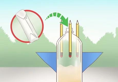 مرحله چهارم ساخت راکت با مواد شیمیایی خانگی