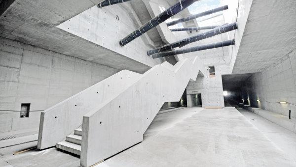 استفاده از بتن معماری به عنوان پرداخت نهایی سطوح داخلی ساختمان