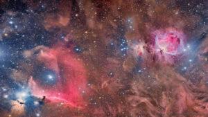 سحابی های شکارچی و سر اسب — تصویر نجومی