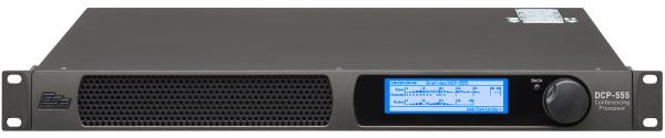 تصویر پردازنده BSS DCP-555 که از وب سوکت برای ایجاد پیکربندی اتاق جلسه از طریق مرورگر استفاده میکند | آموزش وب سوکت