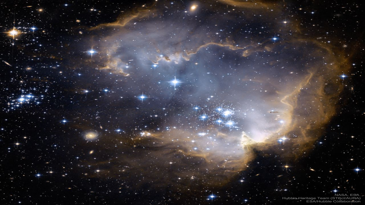 خوشه ستاره ای NGC 602 — تصویر نجومی
