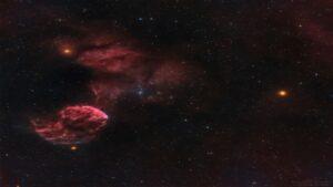 سحابی عروس دریایی — تصویر نجومی