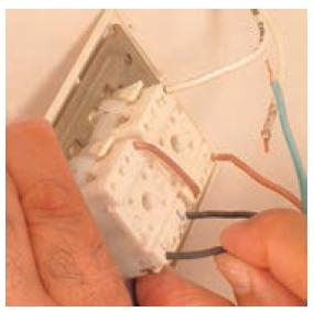اتصال کلید توکار کولر
