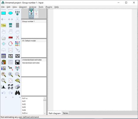 ibm spss amos graphics