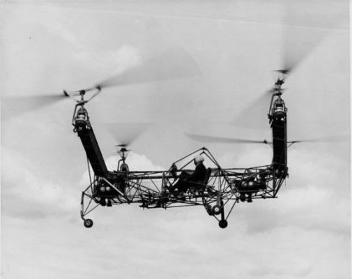 اولین کوادروتورهای ساخته شده