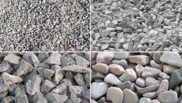 انواع سنگدانه