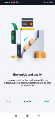 مرحله دوم راهاندازی کیف پول بیت کوین