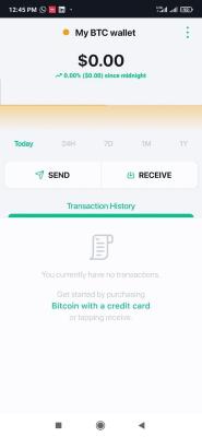 ارسال و دریافت بیت کوین در کیف پول بیت کوین
