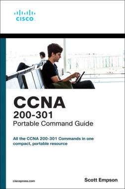 تصویر جلد کتاب CCNA 200-301 Portable Command Guide 5th Edition در مقاله بهترین کتاب CCNA