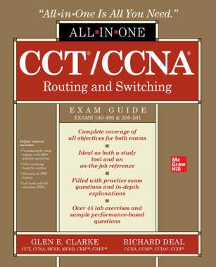 کتاب CCT/CCNA Routing and Switching All-in-One Exam Guide (Exams 100-490 & 200-301) یکی از کتابهای معرفی شده به عنوان بهترین کتاب CCNA