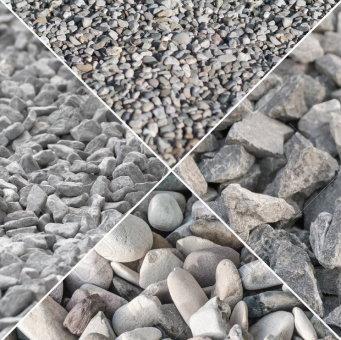 انواع شکلهای سنگدانههای درشت