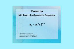 فرمول دنباله هندسی — به زبان ساده و با مثال