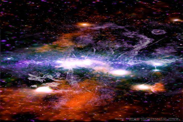 مغناطیس در مرکز کهکشان راه شیری
