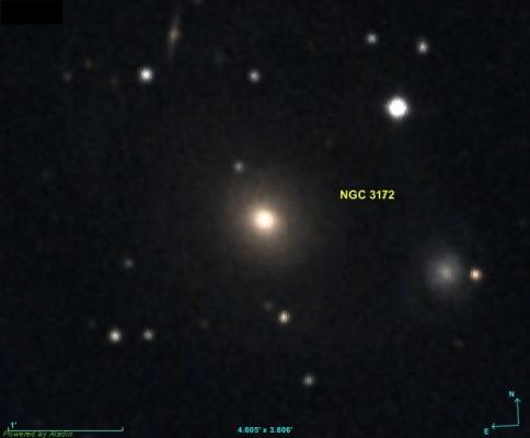 کهکشان NGC 3172