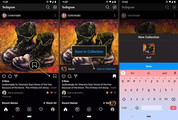 آموزش اینستاگرام - پاک کردن تصاویر و ویدیوها