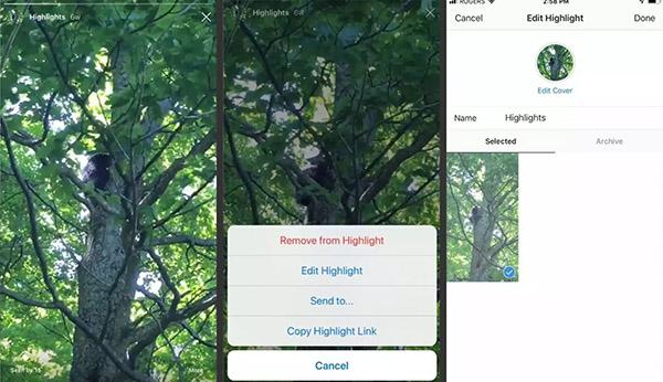 آموزش اینستاگرام - استفاده از قابلیت هایلایتها
