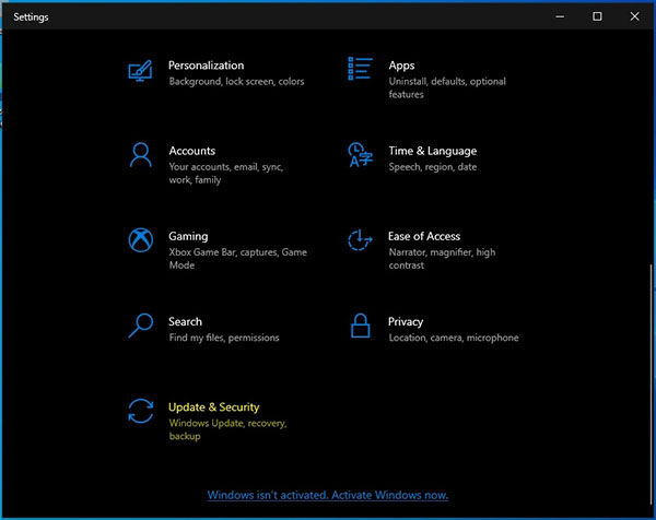نصب ویندوز 11 - تنظیمات ویندوز