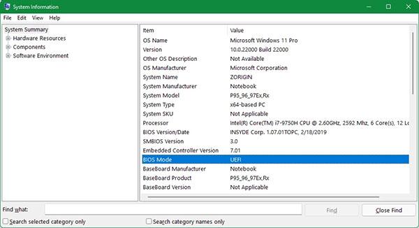 نصب ویندوز 11 - حالت بوت کامپیوتر