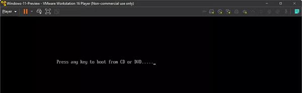 نصب ویندوز 11 روی ماشین مجازی - گام 8
