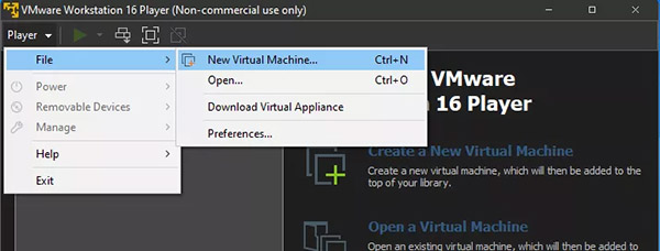 نصب ویندوز 11 روی ماشین مجازی - گام 1