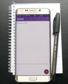 ایجاد یک اپلیکیشن یادداشت ساده به عنوان ایده برای برنامه نویسی اپلیکیشن موبایل