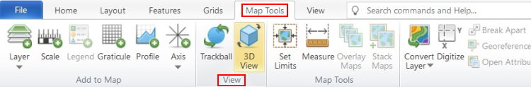 فعال کردن دستور 3D View در سورفر