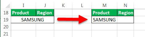 کلید میانبر merge در اکسل