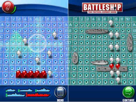 تصویر نمونه از ایده برای برنامه نویسی اپلیکیشن Battleship