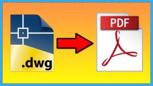 تبدیل فایل DWG به PDF آنلاین و آفلاین — آموزش تصویری و گام به گام