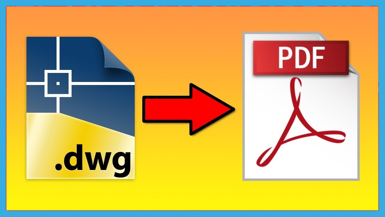 تبدیل فایل DWG به PDF آنلاین و آفلاین اتوکد — آموزش تصویری