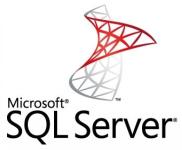 تصویر لوگوی بانک اطلاعاتی SQL Server مایکروسافت که در مقاله بانک اطلاعاتی چیست برای آموزش بانک اطلاعاتی استفاده شده است