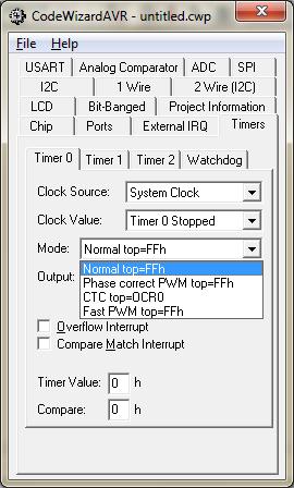 تولید pwm در کدویژن