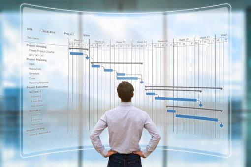 برنامهریزی، باعث تسهیل مدیریت زمان در پروژه میشود.