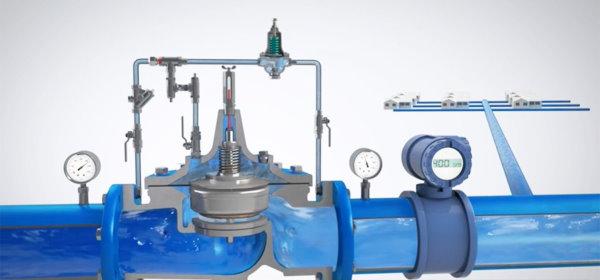شیر کاهنده فشار از انواع ولو در سیستم لولهکشی آب شهری